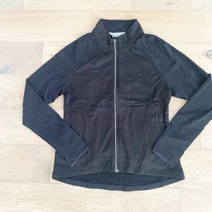 Athleta full zip jacket black xl